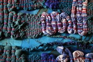 detail levenslijn blauw
